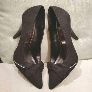 Styluxe black dress pumps